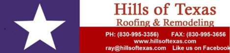 Hills of Texas Roofing & Remodeling, LLC
